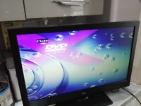 BUSH 24 INCH LED DVD COMBO BUILT IN FREEVIEW IN PERFECT WORKING ORDER.