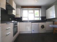 A large and bright 3 double bedroom ground floor flat with private patio in Finsbury Park