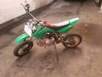 Pitbike 125cc lifan