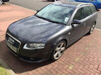2006 AUDI A4 ESTATE SLINE - AUTOMATIC - DRIVES PERFECT - TRADE IN TO CLEAR - BARGAIN