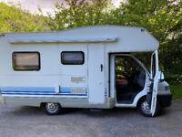 Fiat Ducato 1.9TD 5 Birth Campervan, 9432 miles on the clock