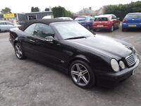 mercedes clk 320 auto convertable £700 ono,