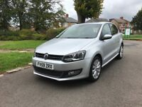 Volkswagen Polo 1.6TDI (90ps) SEL Hatchback 5d 1598cc £30 year tax