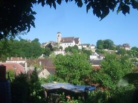 3 bd French house nr Vezelay garden, & land nr shops, rail station, port, canal SWAP POSSIBLE to UK