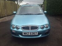 04 1.4L Rover 25 - Light Blue/ Nice Colour - Low Miles - Years MOT - Great for Learner