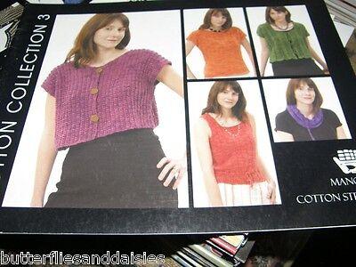 Manos Del Uruguay Design Source Cotton Collection 3 Knitting Book