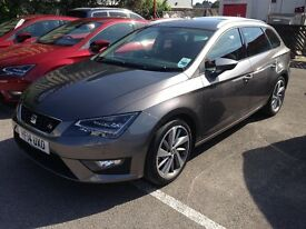 2014 Seat Leon ST (estate) FR 184, Tech pack, Titanium pack, Winter pack & fully loaded