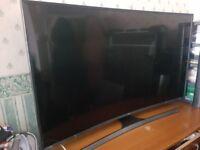 Samsung 55 inch 4k 3d curved tv