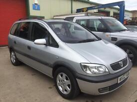 Vauxhall Zafira 1.8 petrol 7 seater