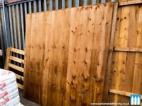 Handmade Feather Edge Fence Panels