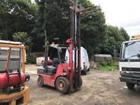 Lansing bagnall forklift truck gas
