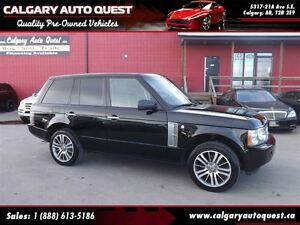 2009 Land Rover Range Rover Supercharged NAVI/CAM/DVD/LEATHER/RO