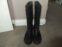 B Dri Black Wellington Boots UK 9
