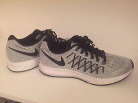 Grey Nike Pegasus women's trainers size 7