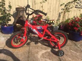 Kids powerangers bike