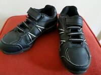 Boys size9 black shoes/trainers