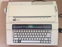 Japanese electric typewriter with LCD screen Nakajima AX65