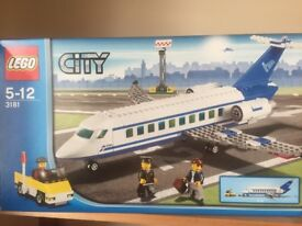 Lego City Passenger Plane (3181) Complete