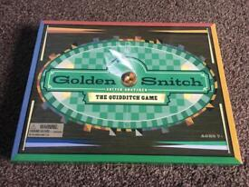 Harry Potter golden Snitch Board Game