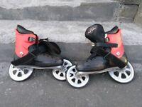 Crazy roller scates