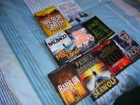 Books. James Patterson, Tim Weaver, Jeffrey Archer, Wilbur Smith, Michael Grant, Patrick Robinson