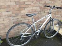 Mens Apollo lightweight Town / hybrid bike