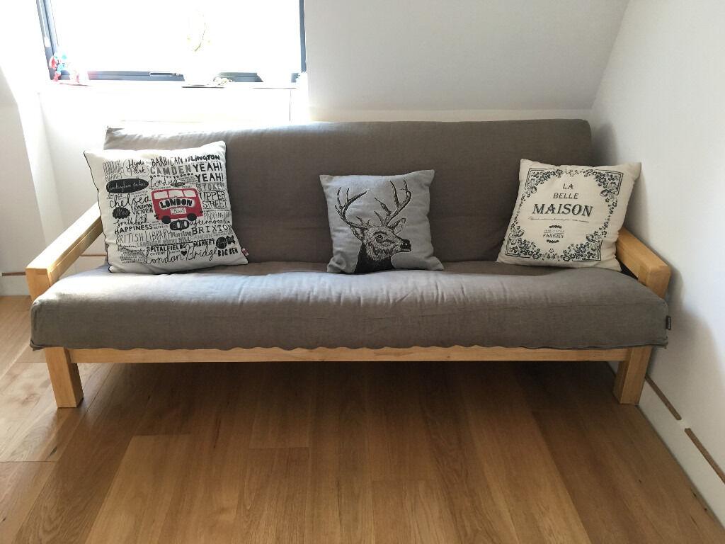 Futon Company Three Seater Sofa Bed