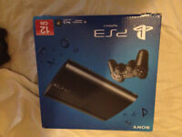 PLAYSTATION 3 CONSOLE SUPER SLIM 8 CONTROLLERS, 12 GAMES,BOX, CAMERA, HDMI, CHARGER, LOADS OF EXTRAS