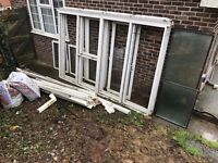 UPVC double glazed conservatory - dismantled JUST £50!