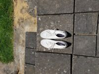 Pair of fred Perry casual shoes