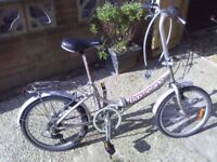 Wonderful bike for town with locker and chain included