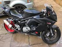 Hyosung GT650R motorbike not yamaha suzuki r6 r1 600cc 650cc 1000cc 250cc