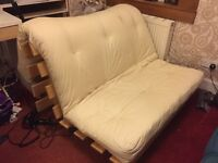 Double futon sofa bed - never been used.