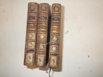 1745.Lettres de Pline le jeune 3/3.Sacy (traducteur)