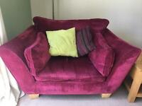 Sofas x2 and chair