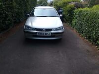 Peugeot 406 diesel estate, low milage, lovely car with fsh.