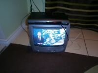 panasonic tv and digi box, scart and aerial sockets still being used