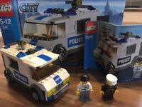 Lego City Police prison transport van