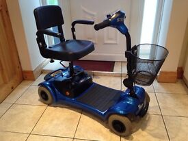 sterling little gem car bootable mobility scooter recent service cost £695 offers around £280