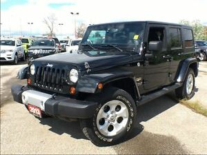 2013 Jeep WRANGLER UNLIMITED SAHARA**HARDTOP**AUTOMATIC**ALLOY W