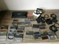 Cokin filters set. Series A, lowepro case