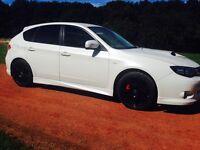 Subaru wrx pearl white