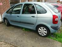 Citroen Picasso 52 plate spares or repairs