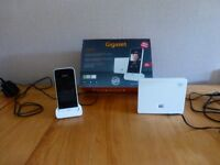 Gigaset SL91010A Touchscreen cordless phone.