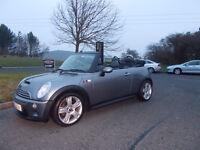 MINI COOPER S CONVERTIBLE LIMITED EDITION SAT NAV STUNNING GREY 2005 BARGAIN £3700 *LOOK*PX/DELIVERY