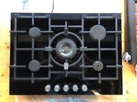 Ex Display Siemens Extra wide gas hob with wok burner