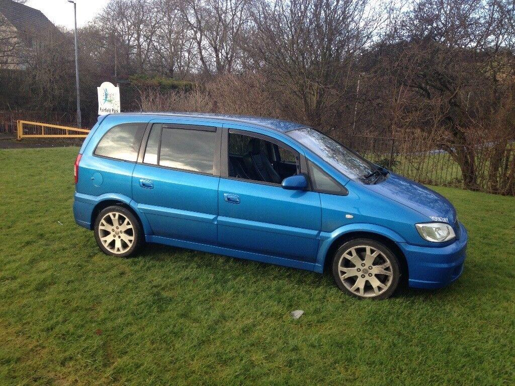 Vauxhall zafira gsi for swaps