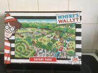 WHERE'S WALLY SAFARI PARK - SEALED JIGSAW PUZZLE - - 100 PIECES
