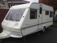 4 BERTH FIXED BED ACE GOLD CARAVAN LIGH TO TOW