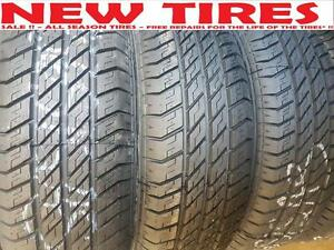 215/60 R 17 SALE !!  $88 - NEW TIRES - ALL SEASON TIRES   -  Free Flat Repair*!!! - SALE !!